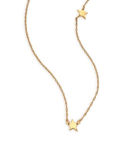 Jennifer Zeuner   Metallic Lisandra Star Necklace   Lyst