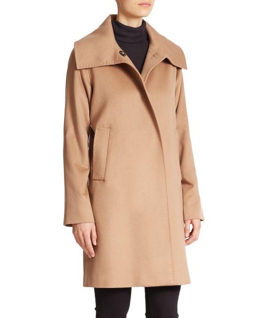 Jane Post | Black Cashmere Jane Coat | Lyst