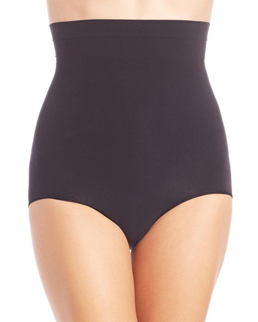 Spanx | Black Higher Power Panties | Lyst