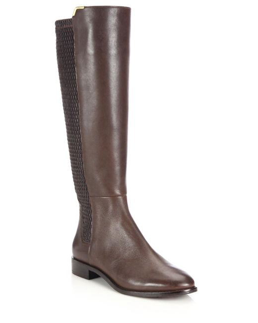 Cole Haan | Brown Rockland Leather Knee-high Boots | Lyst