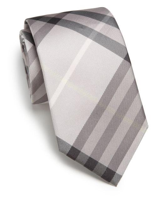 Burberry | Gray Manston Tie for Men | Lyst