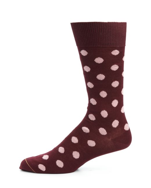 Paul Smith | Purple Maxispot Dot Socks for Men | Lyst