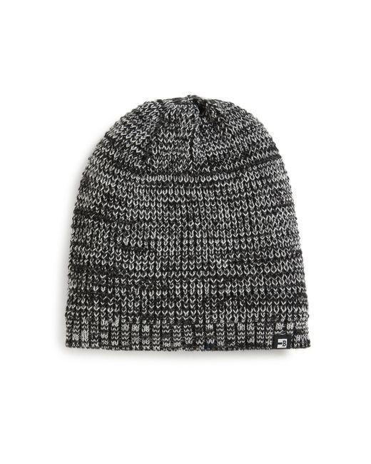 Block Headwear | Black Marled Knit Beanie for Men | Lyst