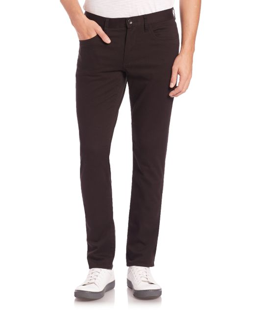 VINCE | Black Essential Five-pocket Straight-leg Soho Jeans for Men | Lyst