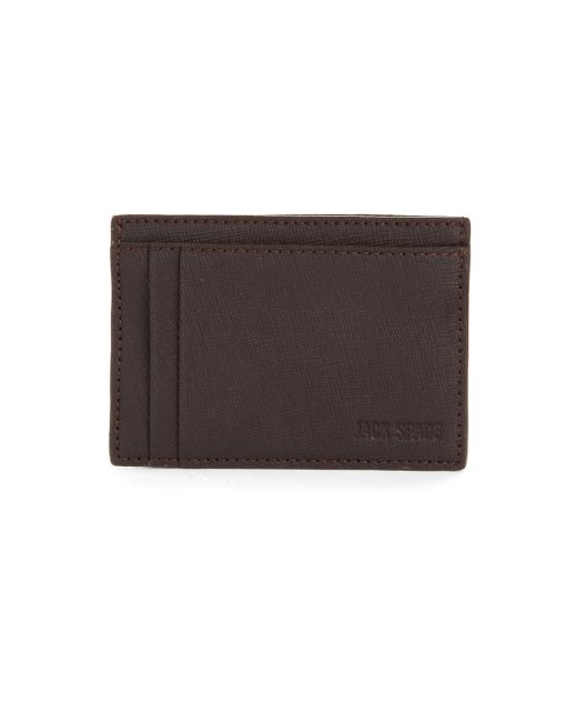 Jack Spade | Brown Varick Leather Id Card Case for Men | Lyst