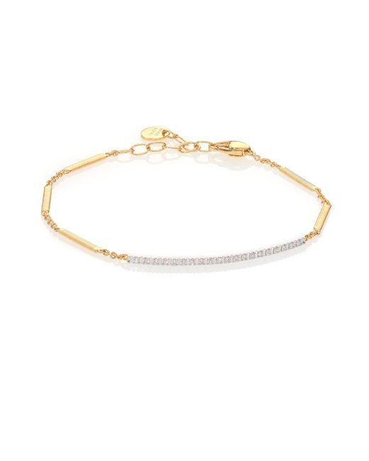 Marco Bicego | Metallic Goa Diamond, 18k Yellow Gold & 18k White Gold Bracelet | Lyst