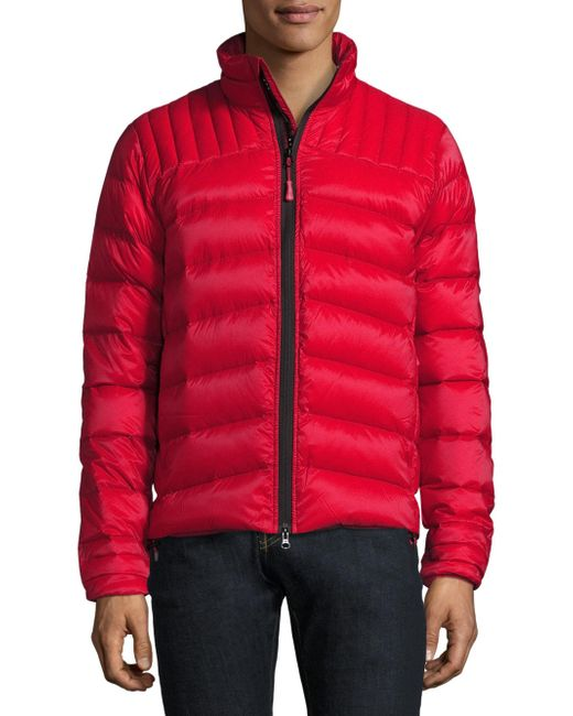 Canada Goose Brookvale Puffer Jacket In Red For Men Lyst