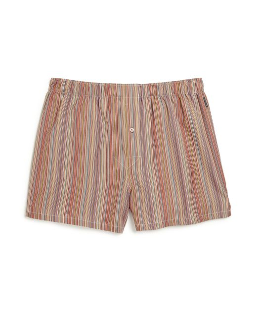 Paul Smith | Multicolor Striped Shorts | Lyst