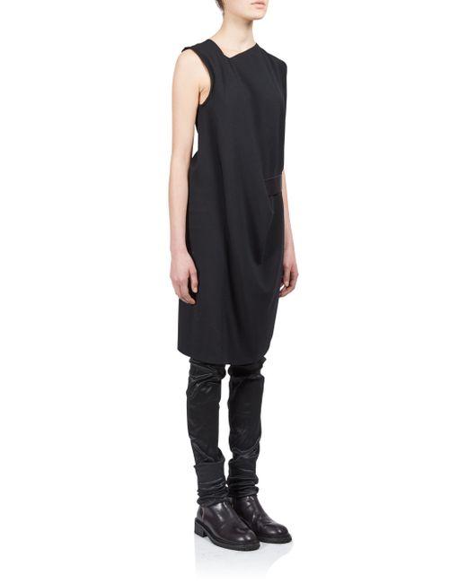 Ann Demeulemeester | Black Harper Dress | Lyst