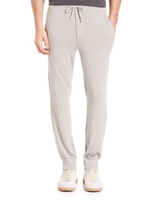 Splendid Mills Lounge Sweat Trousers In Grey For Men Lyst