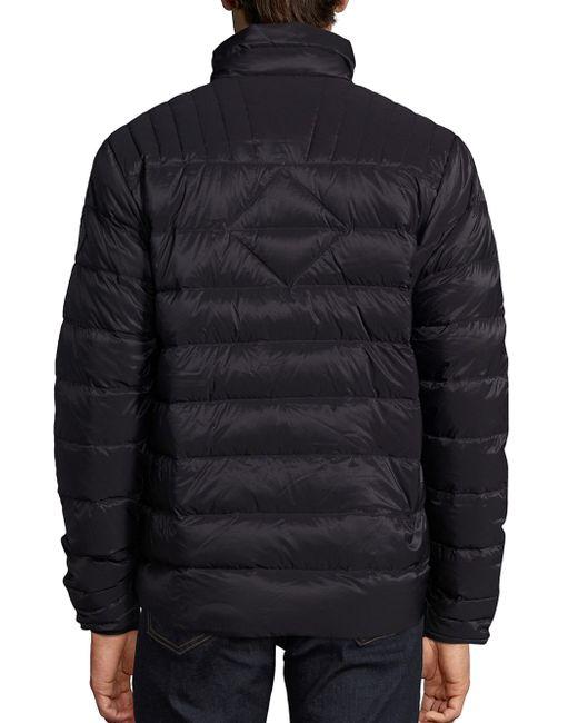 Canada Goose Brookvale Long Sleeve Quilted Jacket In Black