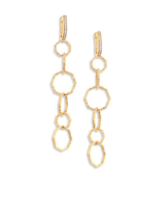 Phillips House | Metallic Hero Diamond & 14k Yellow Gold Pick-me-up Earrings | Lyst