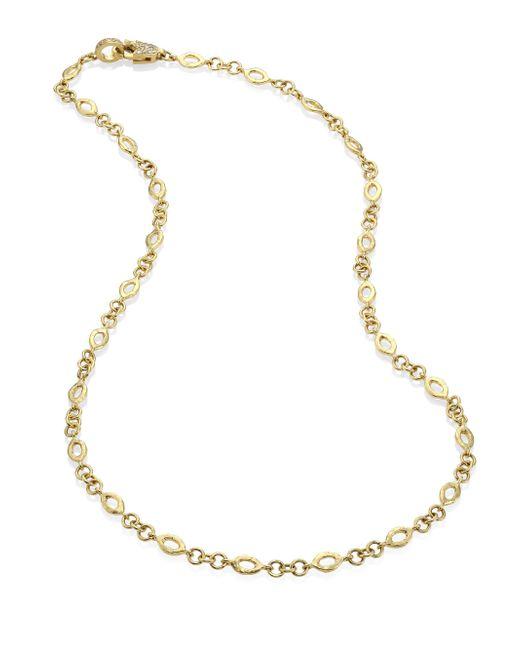 Jordan Alexander | Metallic Diamond & 18k Yellow Gold Marquis Chain Necklace | Lyst