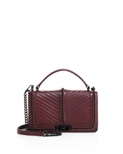 Rebecca Minkoff   Multicolor Love Leather Crossbody Bag   Lyst