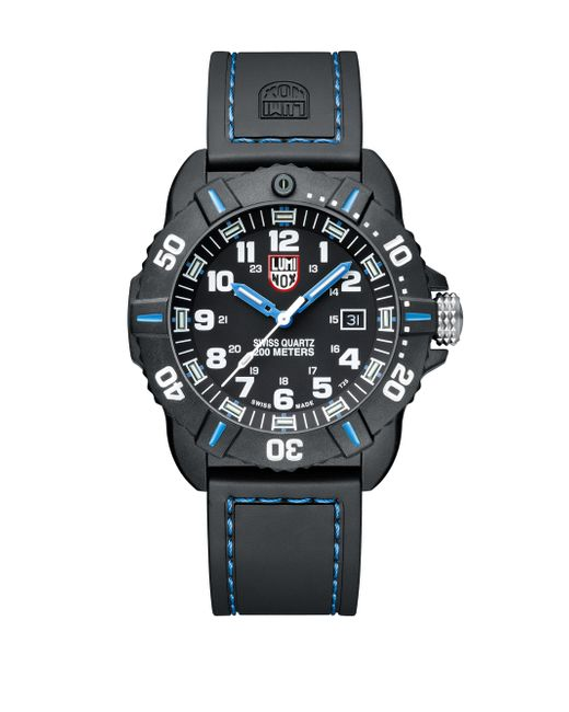 Luminox   Black Sea Coronado Rubber Strap Watch for Men   Lyst