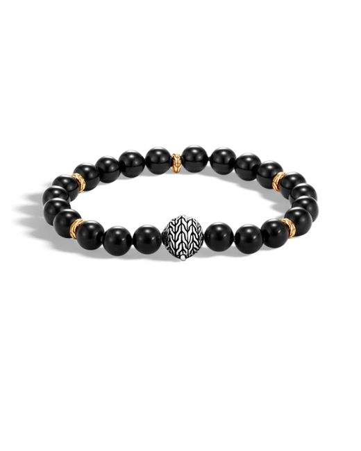 John Hardy | Black Onyx Bead Bracelet for Men | Lyst