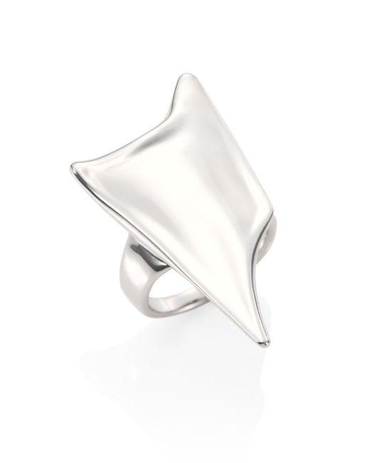 Alexis Bittar   Metallic Elements Liquid Thorn Ring   Lyst