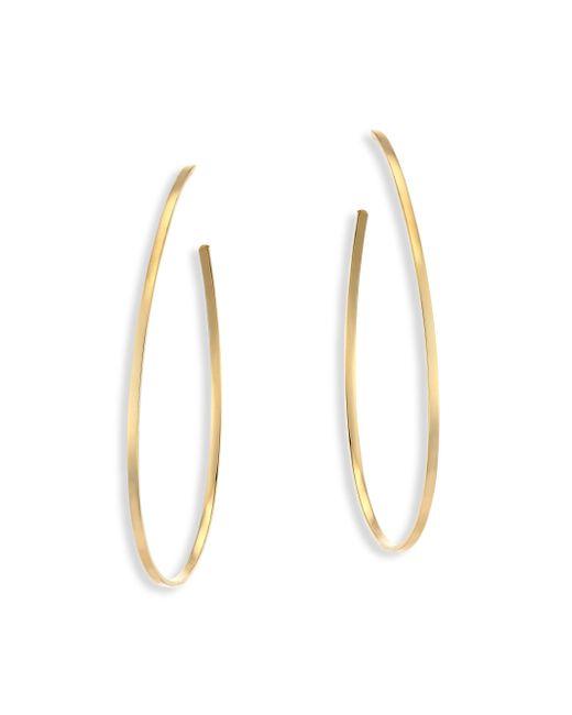 Lana Jewelry | Metallic Bond Tear Hoop Earrings/2.25 | Lyst