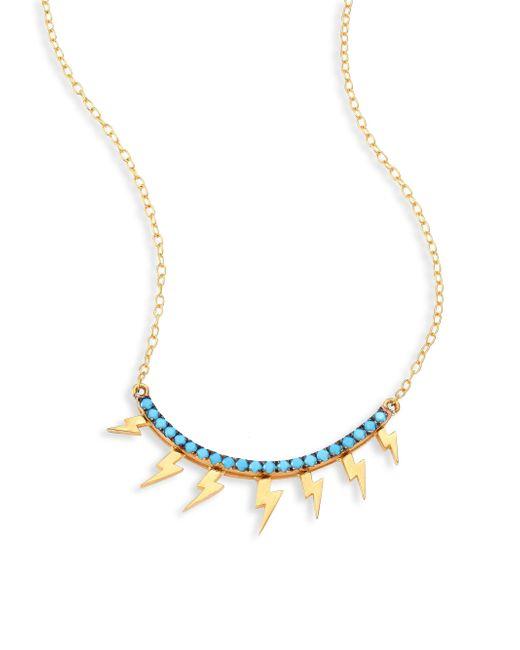 Ileana Makri | Metallic Raining Night Necklace | Lyst