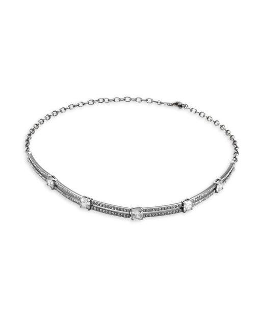 Adriana Orsini | Metallic Pave Link Necklace | Lyst