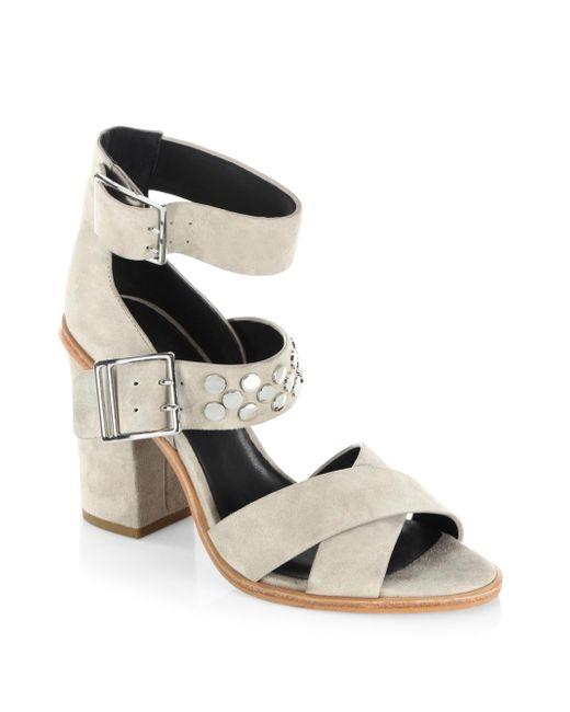 Rebecca Minkoff | Multicolor Jennifer Leather Sandals | Lyst