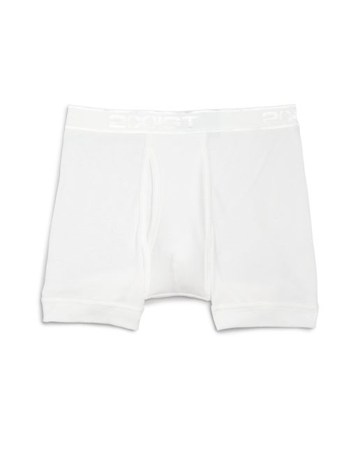 2xist | White Pima Cotton Boxer Briefs for Men | Lyst