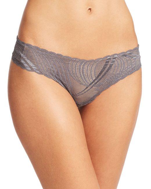 Cosabella | Gray Miinoa Low-rise Thong | Lyst
