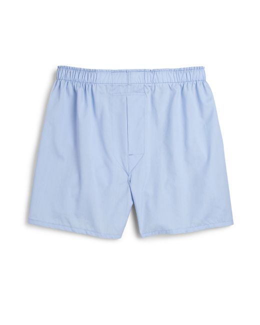 Saks Fifth Avenue | Blue Supima Cotton Boxers for Men | Lyst