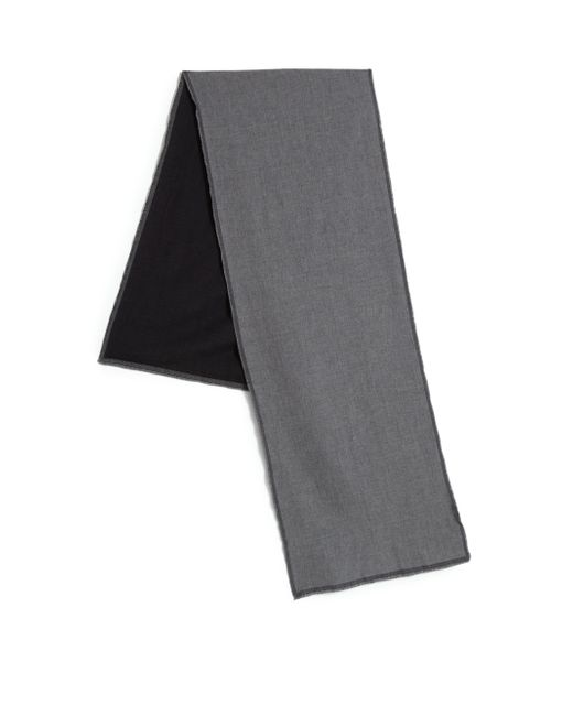 Saks Fifth Avenue | Black Two-tone Scarf for Men | Lyst