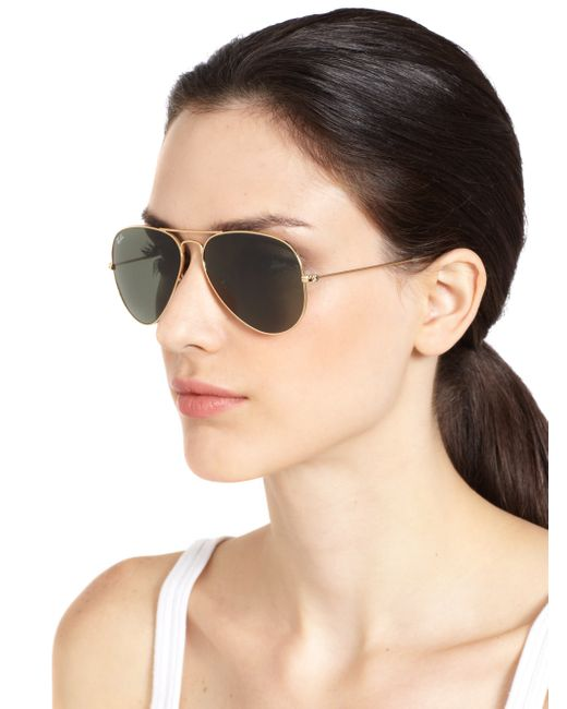 original aviator glasses  Ray-ban Original Aviator Sunglasses in Brown