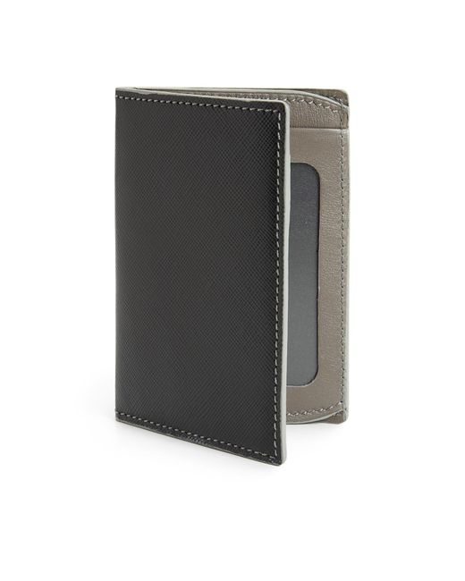 Saks Fifth Avenue | Gray Id Wallet for Men | Lyst