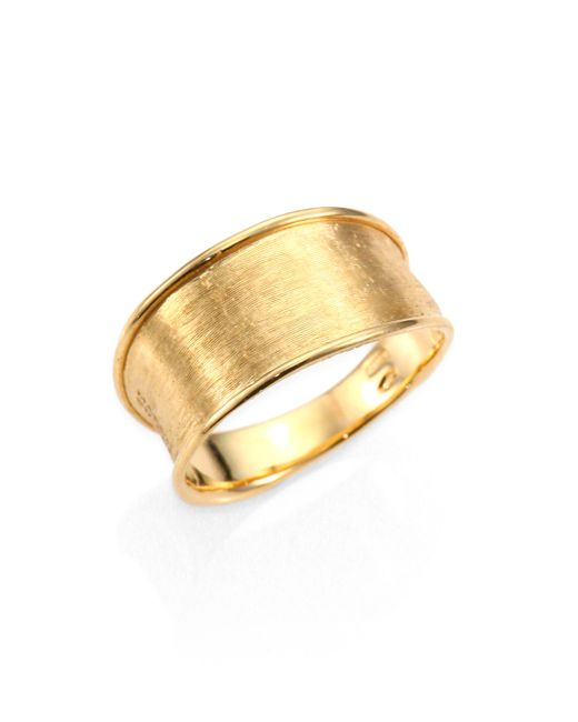 Marco Bicego | Metallic Lunaria 18k Yellow Gold Small Band Ring | Lyst