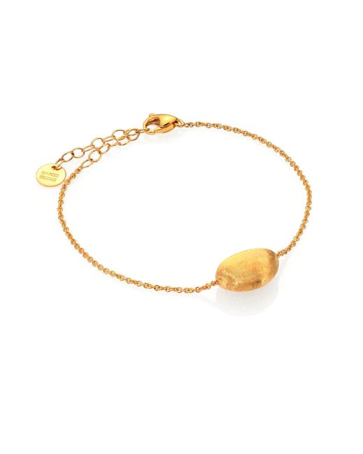 Marco Bicego | Metallic Delicati 18k Yellow Gold Sphere Bracelet | Lyst