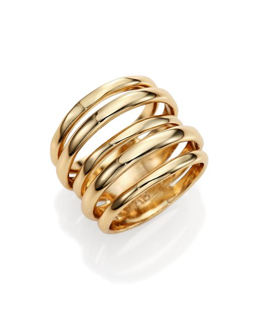 Alexis Bittar | Metallic Miss Havisham Kinetic Layered Ring | Lyst