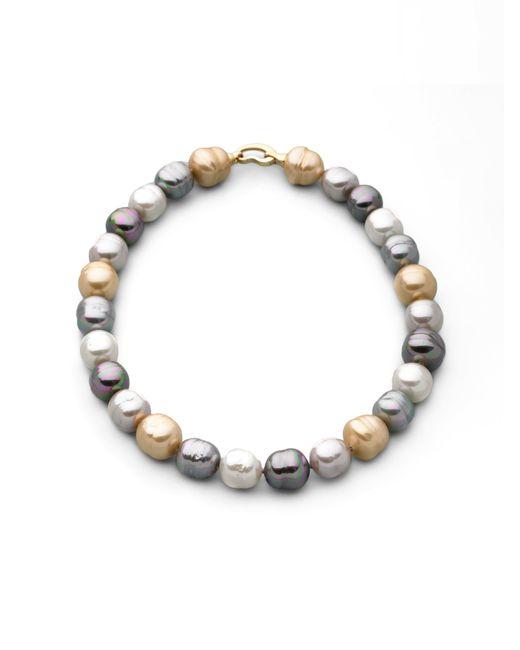 Majorica | 14mm Multicolor Baroque Pearl Necklace/17 | Lyst