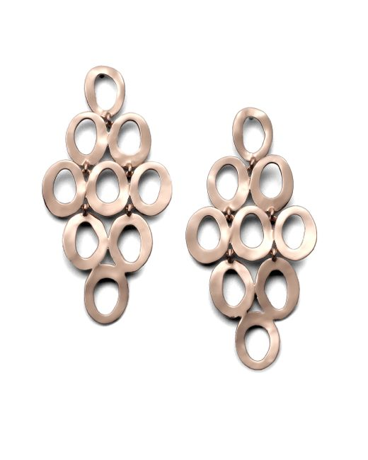 Ippolita | Pink Rose Carino Open Cascade Earrings | Lyst