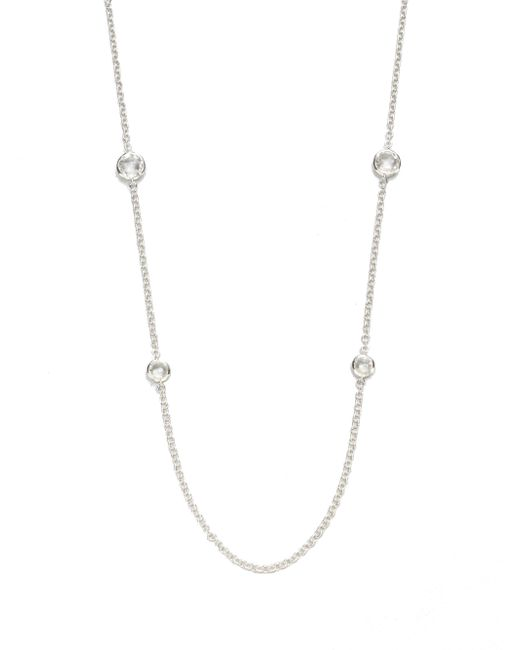 Ippolita | Metallic Clear Quartz & Sterling Silver Necklace | Lyst