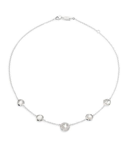 Ippolita | Metallic Diamond, Quartz & Mother-of-pearl Necklace | Lyst