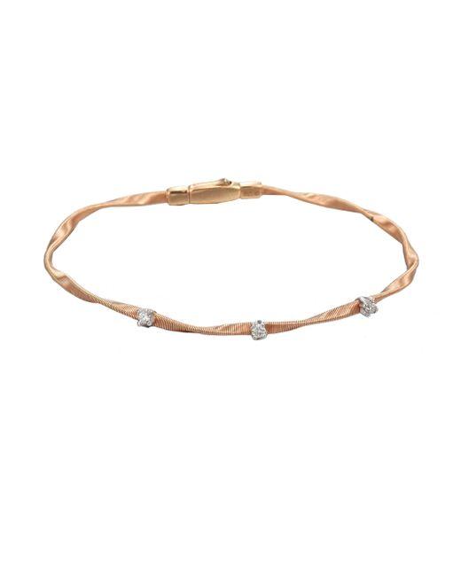Marco Bicego | Metallic Marrakech 18k Rose Gold & Diamond Bracelet | Lyst
