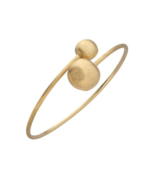 Marco Bicego | Metallic Africa 18k Yellow Gold Ball Large Bypass Bracelet | Lyst