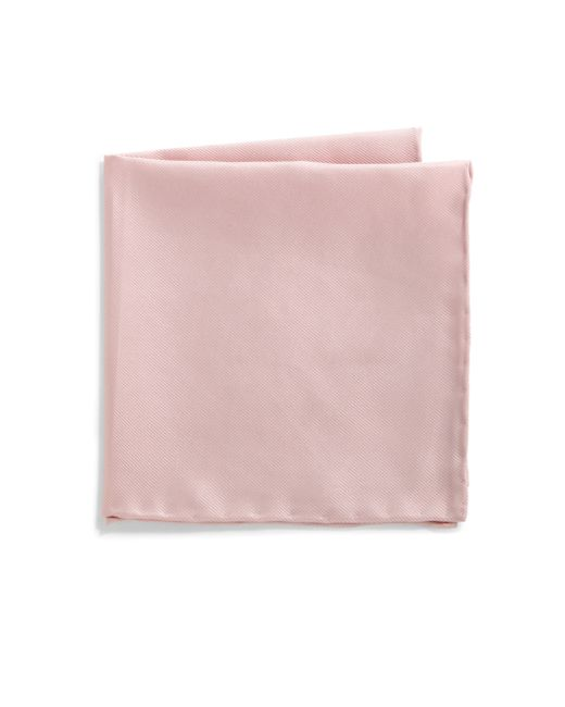 Saks Fifth Avenue | Pink Silk Solid Pocket Square for Men | Lyst