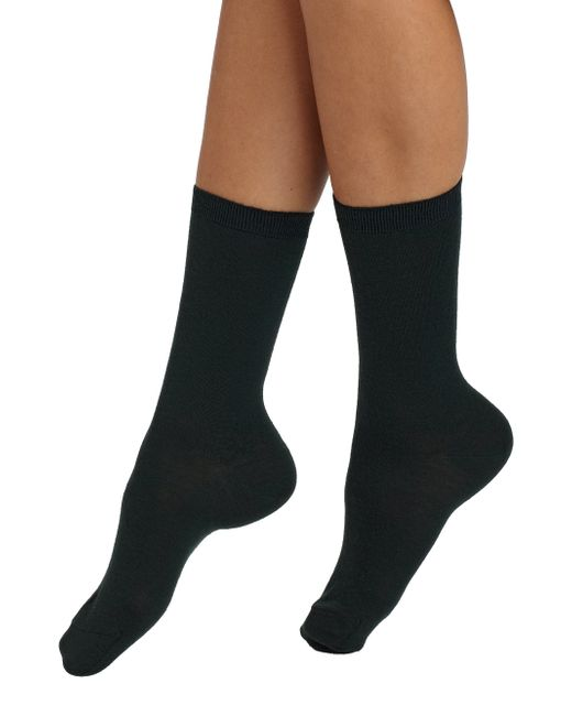 Maria La Rosa | Gray Short Knit Socks | Lyst
