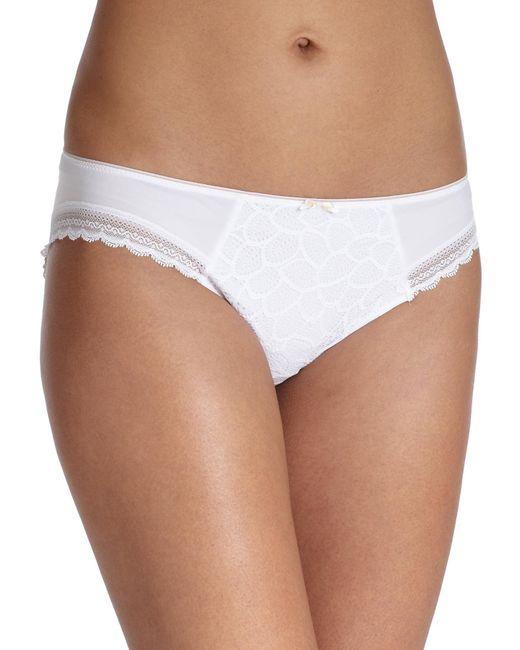 Chantelle | White Merci Bikini | Lyst