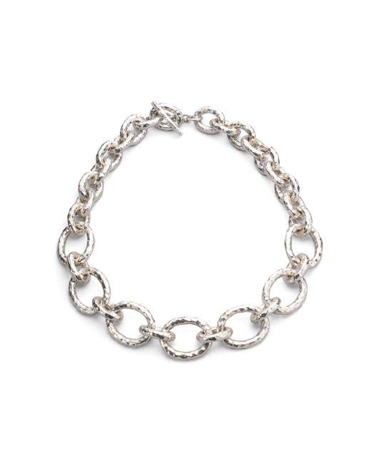 Ippolita   Metallic Glamazon Sterling Silver Bastille Link Chain Necklace   Lyst