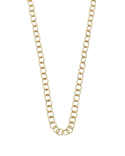 Temple St. Clair | Metallic 18k Yellow Gold Classic Oval Link Necklace Chain/32 | Lyst