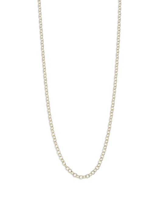 Temple St. Clair | Metallic 18k Yellow Gold Round-link Chain/32 | Lyst