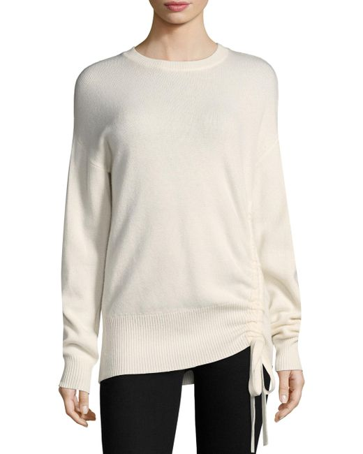 Joie | White Iphis Drawstring Sweater | Lyst