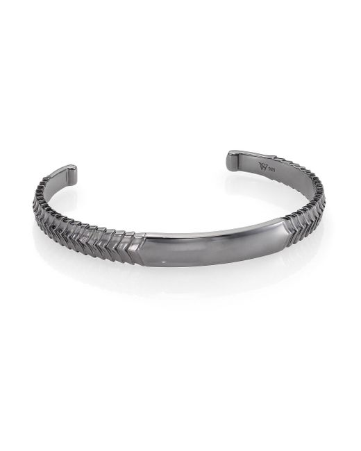 Stephen Webster | Metallic Torque Bangle Bracelet | Lyst