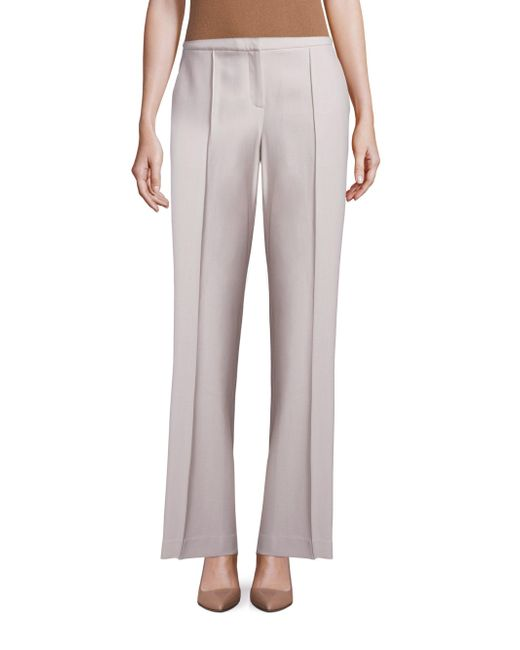 Lafayette 148 New York | Natural Kenmare Flared Pants | Lyst
