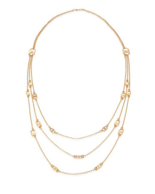 Tory Burch | Metallic Gemini Link Multi-strand Necklace | Lyst